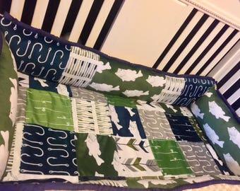 gone fishing baby bedding set