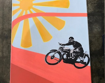 Ride into the Sun Painting