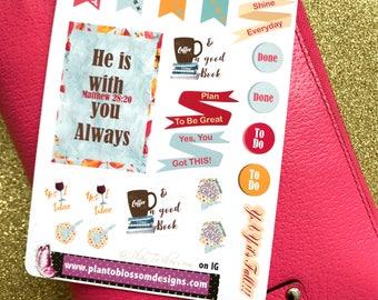 Freebie  Planning Posse Sale  Stickers 