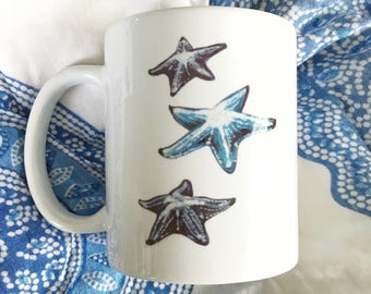 Starfish Siehorse Fine Art Mug, 11 oz.
