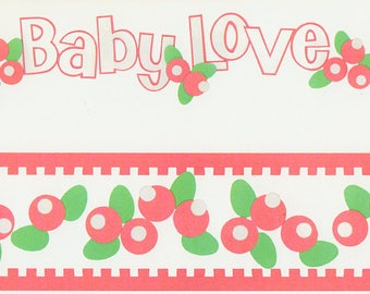 Baby Love Title Over-alls Page Topper 6x12 Title Scrapbooking Scrapbooks Ek Success Embellishments Cardmaking Crafts