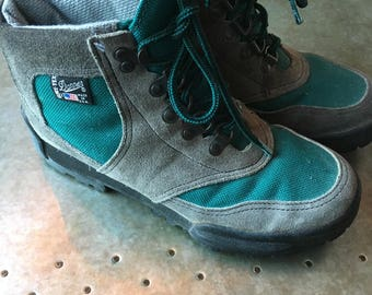 Hiking Boots Danner Retro Women's Merrell Hiking Boots 1990 Vintage Hikers Size 7