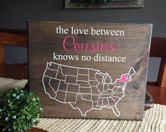 The love between cousins knows no distance