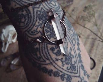 Bracelet 3 laps quartz