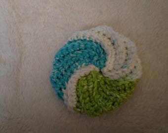Spiral scrubbie