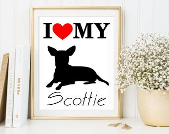 Custom dog silhouette Dog memorial Custom pet art Custom dog decor Dog silhouette art DOG Silouette Modern dog print Black dog art Lovemydog