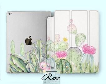 Cactus case iPad 2017 case Mini iPad iPad pro 10 5 inch Succulent iPad case iPad mini 4 case iPad 7 case iPad smart cover iPad air 2 smart