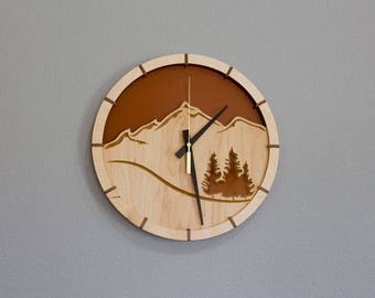 Trailhead Wall Clock