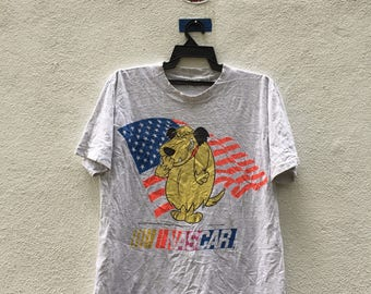 Vintage nascar shirt with cartoon