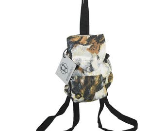 """Backpack small, party bag, children's backpack, animal allover Print """"cats"""""""