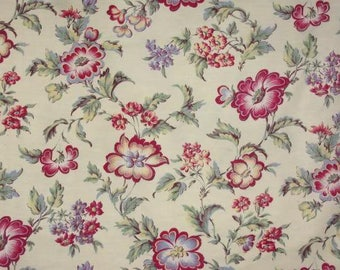 A beautiful floral vintage fabric