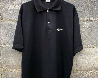 Vintage Nike Polos Nike Original Swoosh Logo Size L