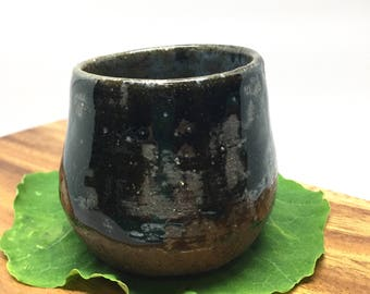 Midnight Cup 3, Ceramic Handmade Mug