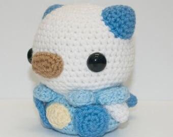 Crochet Oshawott Pokemon Crochet Handmade