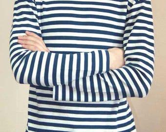 Russian navy sailor's summer striped t-shirt telnyashka new S, M, L, XL тельняшка ВМФ