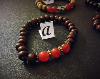 Fire agate genuine gemstone jewelry