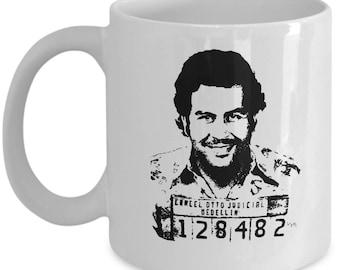 Narcos White Mug