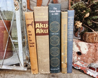 Old Books - US History, Germany & Easter Island