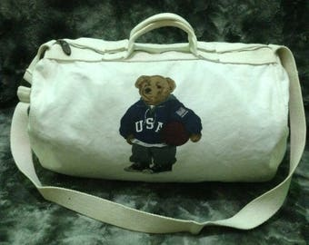 Polo Bear Duffle Bag