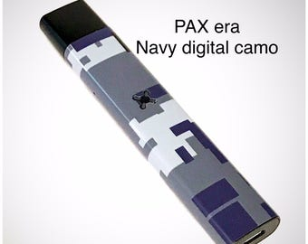 Pax Era skin wrap Navy digital camo skin wrap by Jwraps