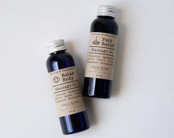 Anti-Cellulite Aroma Massage & Bath oil