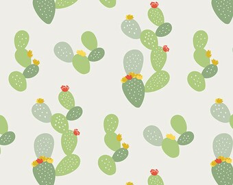 Cactus Fabric - Art Gallery Day Trip - Prickly - Dana Willard - Succulent Fabric  - Fabric by the Yard