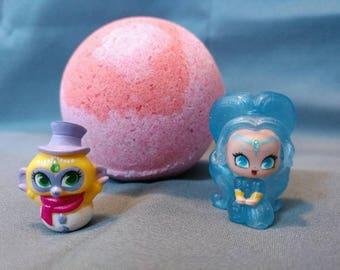 Medium Teenie Genies Inspired Bath Bomb With Character