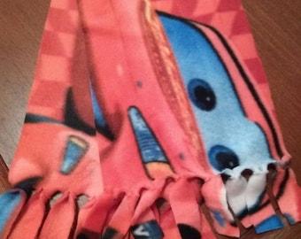 Kids Cars fleece scarf