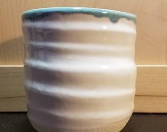 Blue Medium Flowerpot