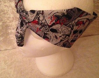 Handmade Zombie Horror Headband