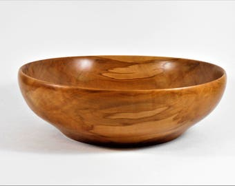 bowl of apple wood