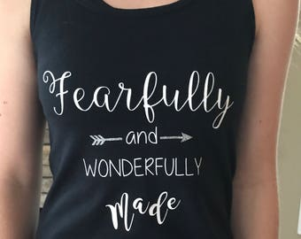 Workout Tank, yoga tank, Christian gifts for women, workout shirt, Christian shirt, unique gift, birthday gift, Bible verse shirt