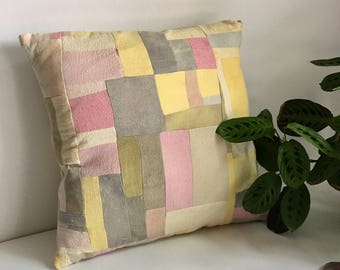 Naturally Hand Dyed Throw Pillow Cover