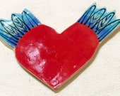 Flying Heart Handmade Mos...