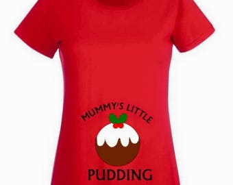 Christmas maternity etsy uk for Funny christmas maternity t shirts