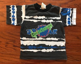 Vintage kids 1995 goosebumps shirt