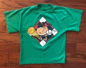 Vintage peanuts snoopy kids t-shirt
