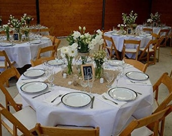 "Burlap Squares, Centerpieces, 1 Dozen Jute Burlap 17"" x 17"", Wedding Table Decor, Burlap Placemats, Burlap Colored."