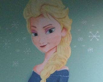 THE SNOW QUEEN MURAL