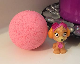Surprise Skye Paw Patrol Bath Bomb For Kids Bundle Set w/Shea Butter 7 oz FREE SHIPPING
