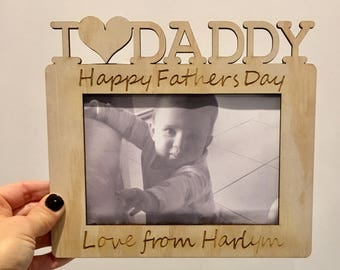 Personalised Fathers Day Frames