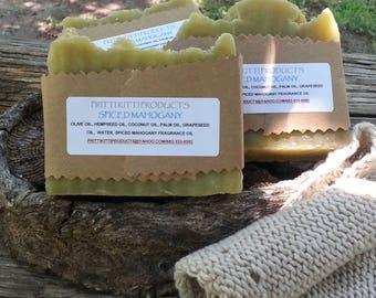 Spiced Mahogany Bath Soap