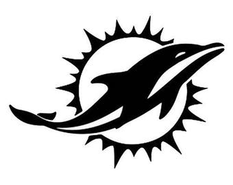 Miami Dolphins .svg file for Cricut and Silhouette