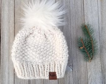 The Remarkables Toque/ Knit Hat / Chunky Hat / Warm Hat / Knit Beanie
