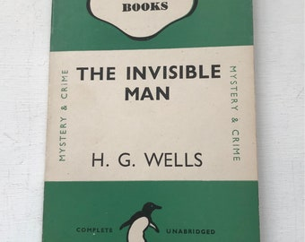 H G Wells The Invisible Man Penguin Books 1946