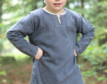 Burgschneider Children's Viking Medieval Cotton Tunic Eriksson