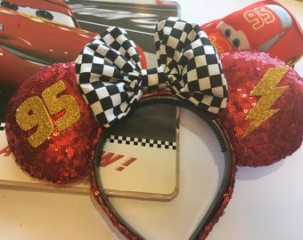 Cars Inspired Mouse Ears