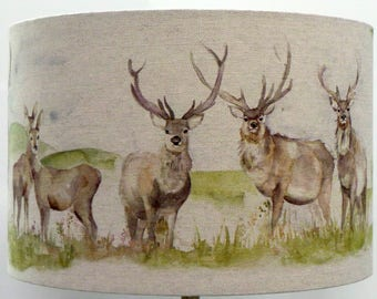 Voyage Maison Moorland Stag Lampshade , Table Lamp , Pendant Shade