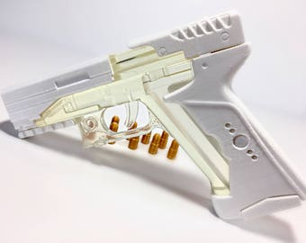 3D Printed Major's Thermoptic Pistol from Ghost in the Shell
