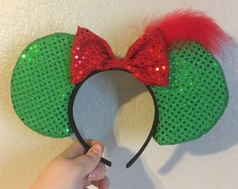 Peter Pan Inspired Minnie Mouse Ears